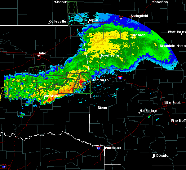 Radar Image for Severe Thunderstorms near Long, OK at 5/15/2020 1:24 PM CDT