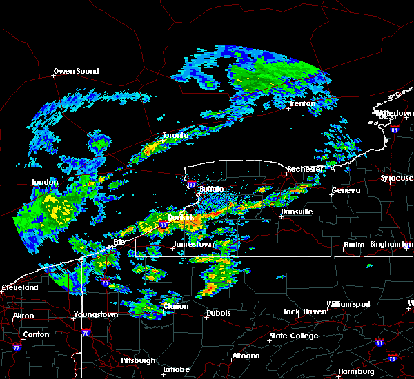 Radar Image for Severe Thunderstorms near Wyoming, NY at 5/15/2020 2:29 PM EDT