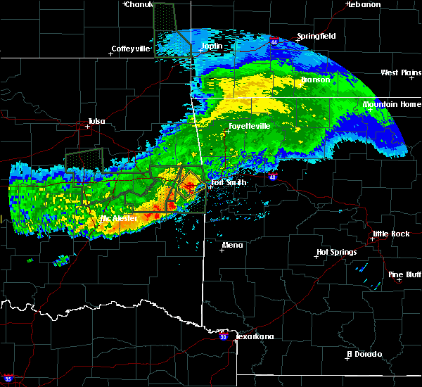 Radar Image for Severe Thunderstorms near Long, OK at 5/15/2020 1:43 PM CDT