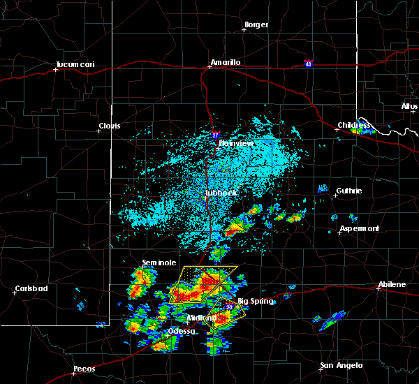 Radar Image for Severe Thunderstorms near Post, TX at 5/15/2020 3:01 PM CDT