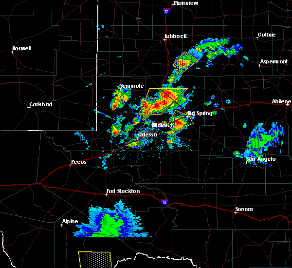 Radar Image for Severe Thunderstorms near Los Ybanez, TX at 5/15/2020 3:10 PM CDT