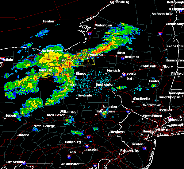 Radar Image for Severe Thunderstorms near Lodi, NY at 5/15/2020 4:11 PM EDT