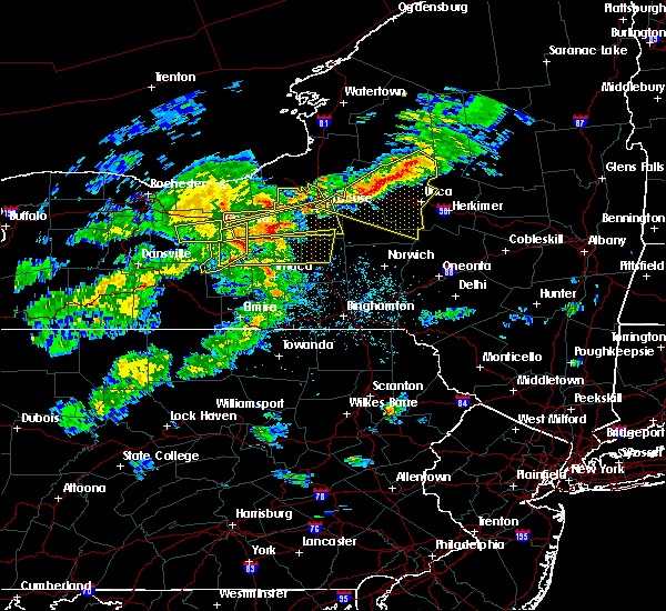 Radar Image for Severe Thunderstorms near Cayuga Heights, NY at 5/15/2020 4:20 PM EDT