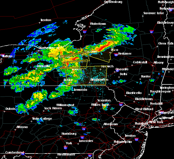 Radar Image for Severe Thunderstorms near Lodi, NY at 5/15/2020 4:24 PM EDT
