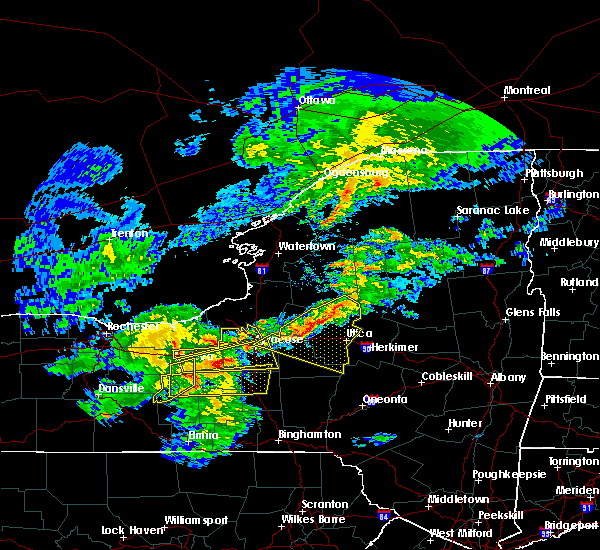 Radar Image for Severe Thunderstorms near Baldwinsville, NY at 5/15/2020 4:25 PM EDT