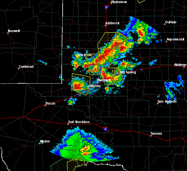 Radar Image for Severe Thunderstorms near Los Ybanez, TX at 5/15/2020 3:45 PM CDT