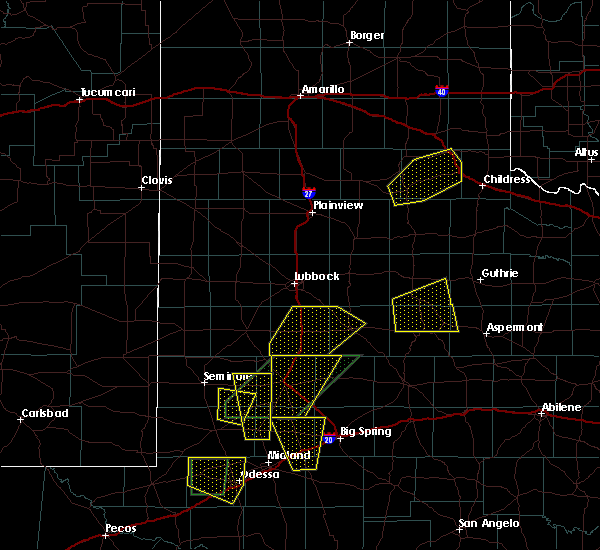 Radar Image for Severe Thunderstorms near Post, TX at 5/15/2020 4:11 PM CDT