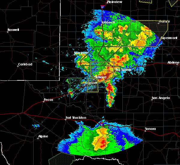 Radar Image for Severe Thunderstorms near Garden City, TX at 5/15/2020 5:16 PM CDT