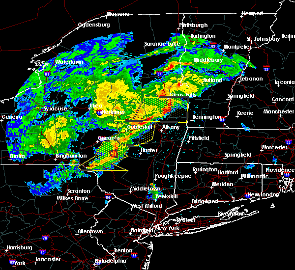 Radar Image for Severe Thunderstorms near Altamont, NY at 5/15/2020 6:25 PM EDT