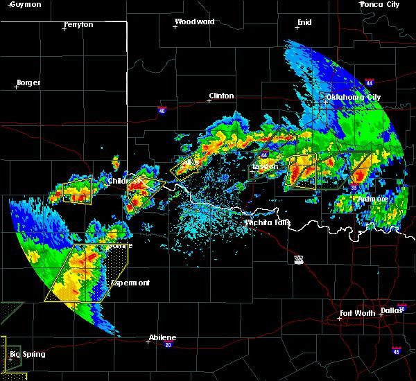 Radar Image for Severe Thunderstorms near Altus, OK at 5/15/2020 5:30 PM CDT