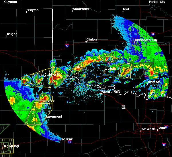 Radar Image for Severe Thunderstorms near Altus, OK at 5/15/2020 5:48 PM CDT