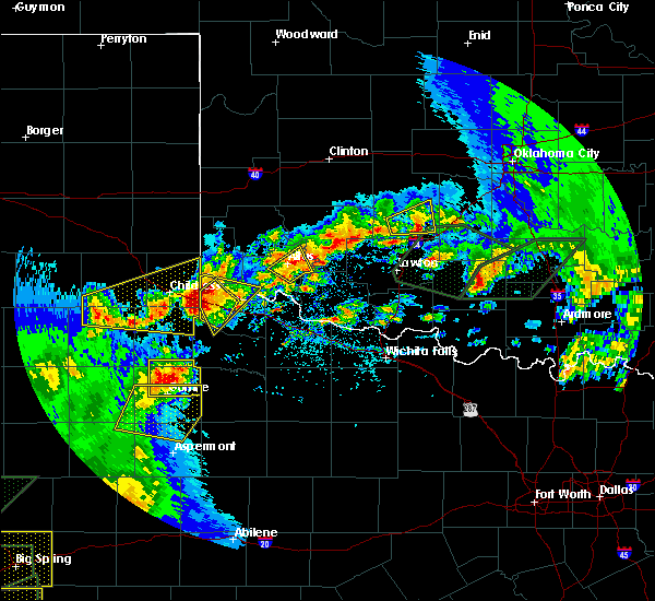 Radar Image for Severe Thunderstorms near Quanah, TX at 5/15/2020 5:59 PM CDT