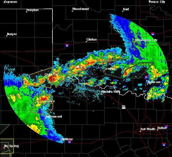 Radar Image for Severe Thunderstorms near Altus, OK at 5/15/2020 6:00 PM CDT