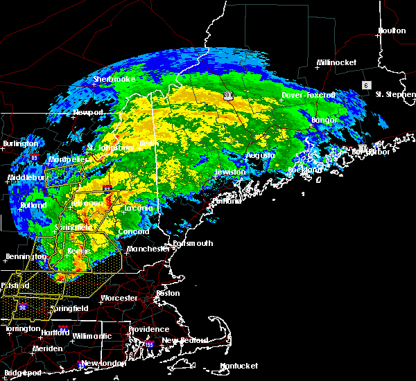 Radar Image for Severe Thunderstorms near Melvin Village, NH at 5/15/2020 7:46 PM EDT