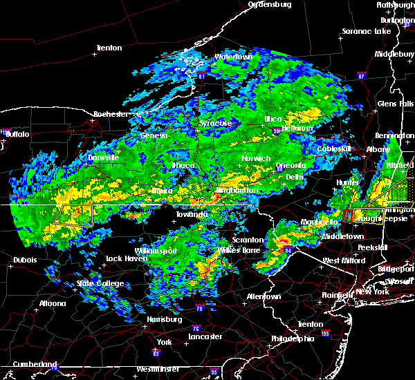 Radar Image for Severe Thunderstorms near Millerton, PA at 5/15/2020 7:52 PM EDT