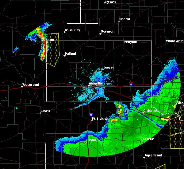 Radar Image for Severe Thunderstorms near Felt, OK at 5/15/2020 7:38 PM CDT