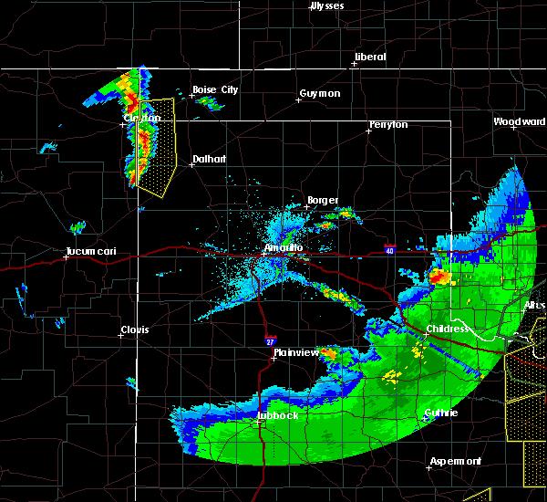 Radar Image for Severe Thunderstorms near Felt, OK at 5/15/2020 7:57 PM CDT