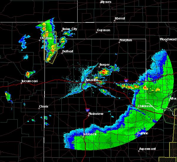 Radar Image for Severe Thunderstorms near Felt, OK at 5/15/2020 8:27 PM CDT