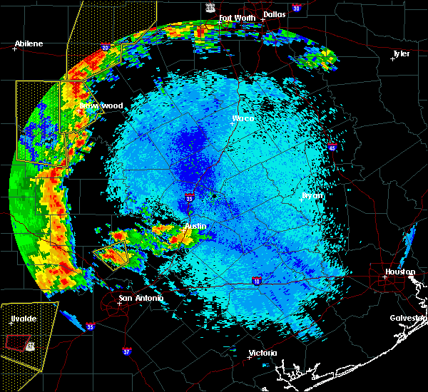 Radar Image for Severe Thunderstorms near Richland Springs, TX at 5/15/2020 9:31 PM CDT