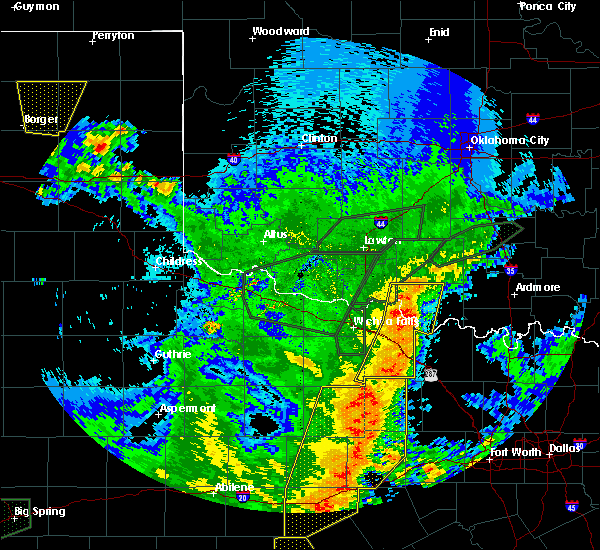 Radar Image for Severe Thunderstorms near Hastings, OK at 5/15/2020 9:41 PM CDT