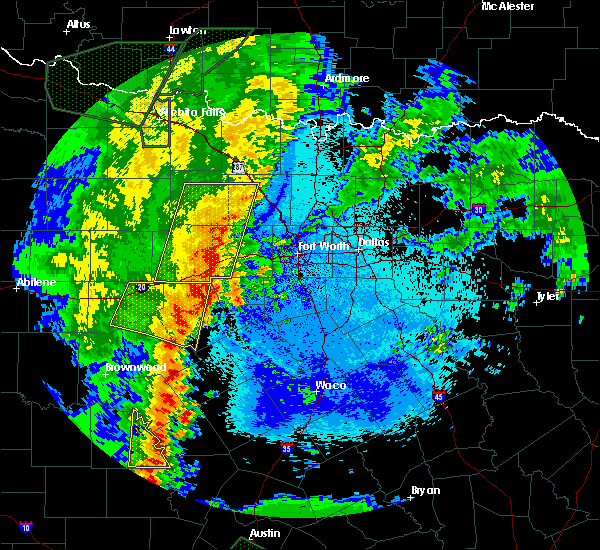 Radar Image for Severe Thunderstorms near Pecan Plantation, TX at 5/15/2020 10:31 PM CDT