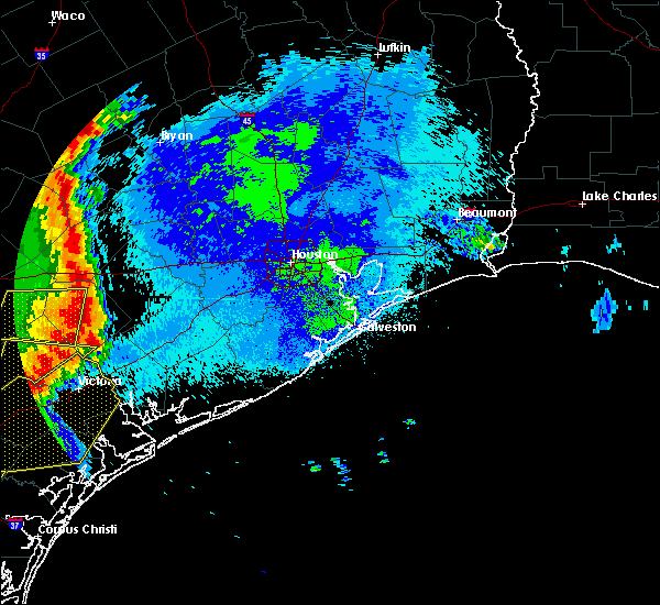 Radar Image for Severe Thunderstorms near El Campo, TX at 5/16/2020 1:28 AM CDT