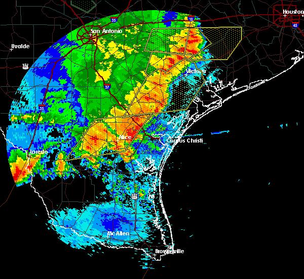 Radar Image for Severe Thunderstorms near Las Palmas, TX at 5/16/2020 1:38 AM CDT