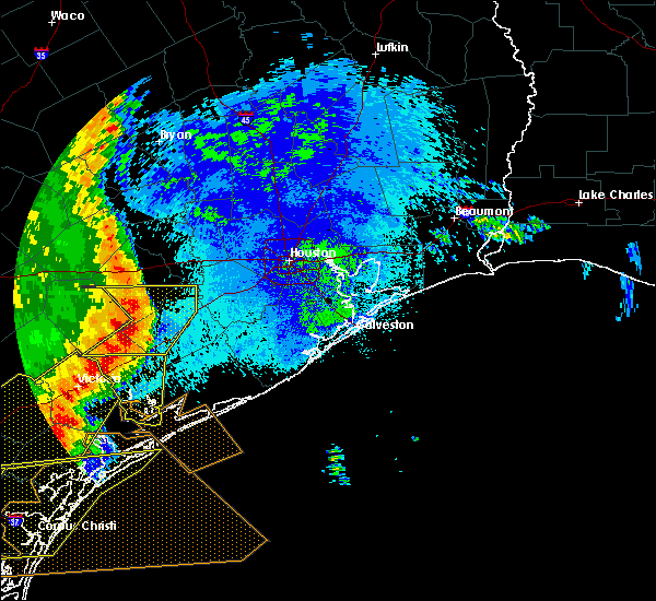 Radar Image for Severe Thunderstorms near El Campo, TX at 5/16/2020 1:56 AM CDT