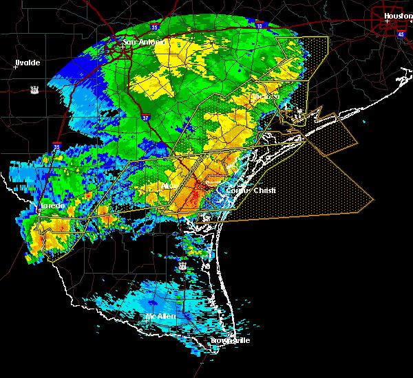 Radar Image for Severe Thunderstorms near Tivoli, TX at 5/16/2020 2:07 AM CDT