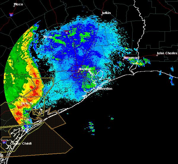 Radar Image for Severe Thunderstorms near Needville, TX at 5/16/2020 2:12 AM CDT