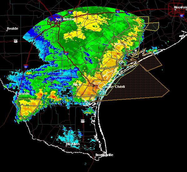 Radar Image for Severe Thunderstorms near Edna, TX at 5/16/2020 2:14 AM CDT