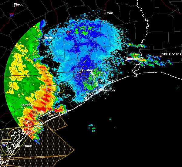 Radar Image for Severe Thunderstorms near Pecan Grove, TX at 5/16/2020 2:30 AM CDT