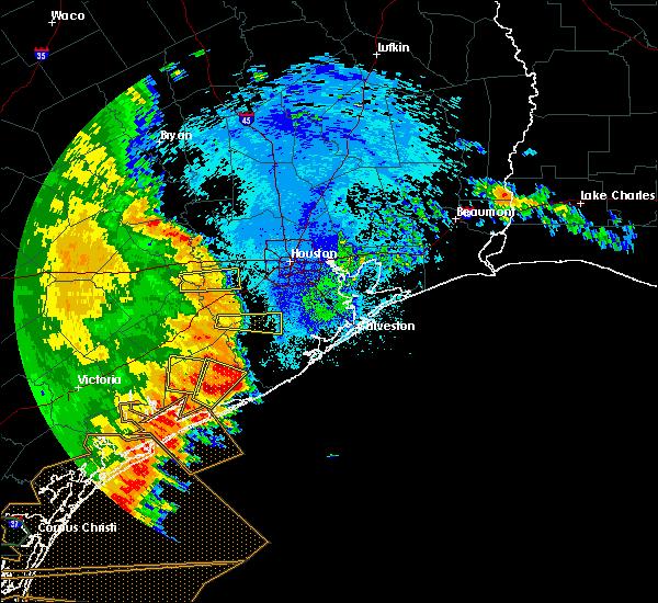 Radar Image for Severe Thunderstorms near Rosenberg, TX at 5/16/2020 2:55 AM CDT