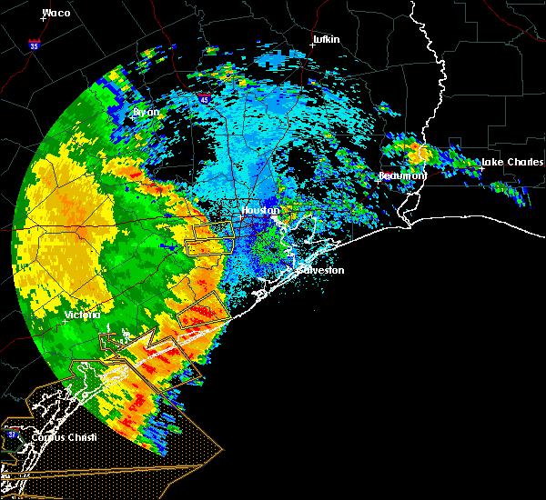 Radar Image for Severe Thunderstorms near Rosenberg, TX at 5/16/2020 3:14 AM CDT