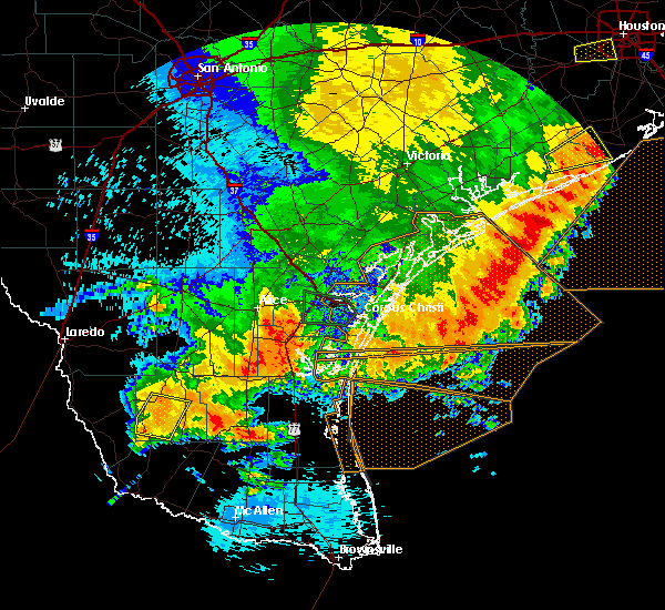 Radar Image for Severe Thunderstorms near Guerra, TX at 5/16/2020 3:24 AM CDT