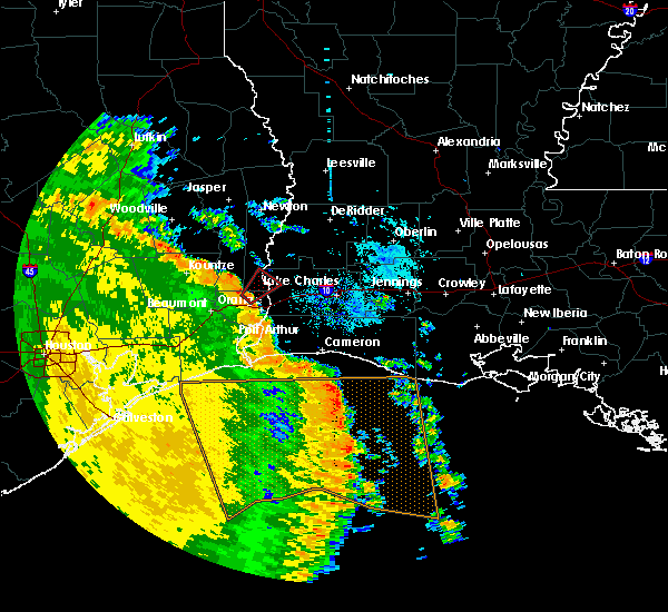 Radar Image for Severe Thunderstorms near Starks, LA at 5/16/2020 6:52 AM CDT