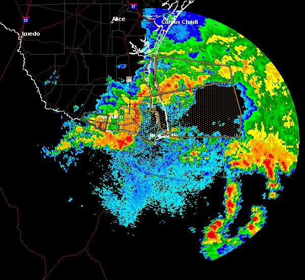 Radar Image for Severe Thunderstorms near Chula Vista, TX at 5/16/2020 8:37 AM CDT