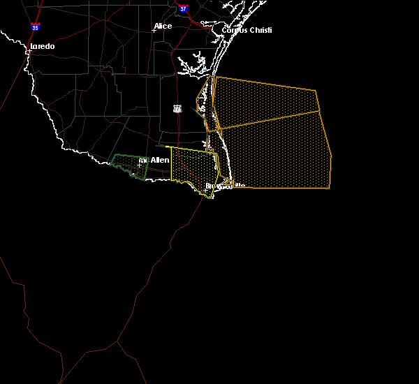Radar Image for Severe Thunderstorms near Chula Vista, TX at 5/16/2020 8:55 AM CDT