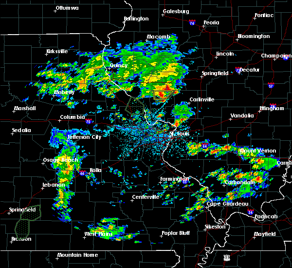 Radar Image for Severe Thunderstorms near White Hall, IL at 5/16/2020 2:43 PM CDT