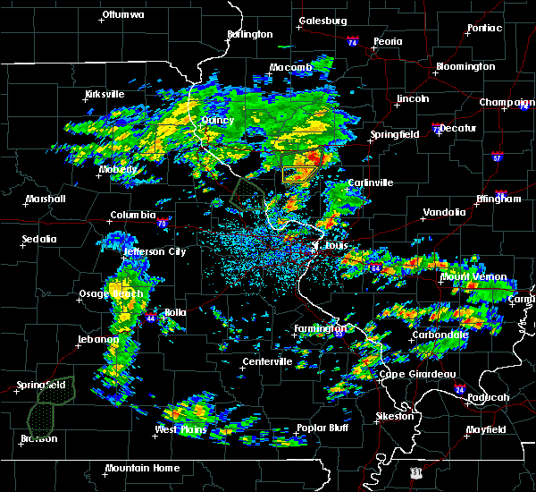 Radar Image for Severe Thunderstorms near White Hall, IL at 5/16/2020 2:57 PM CDT