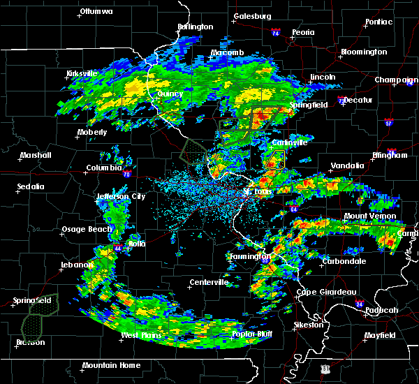 Radar Image for Severe Thunderstorms near Mount Clare, IL at 5/16/2020 3:53 PM CDT