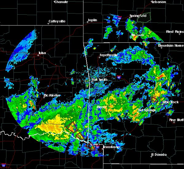 Radar Image for Severe Thunderstorms near Wright City, OK at 5/16/2020 4:14 PM CDT