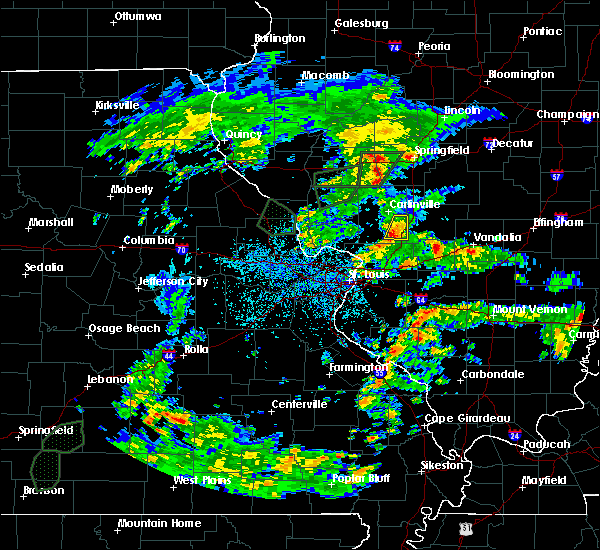 Radar Image for Severe Thunderstorms near Mount Clare, IL at 5/16/2020 4:15 PM CDT