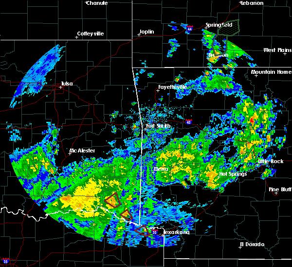 Radar Image for Severe Thunderstorms near Broken Bow, OK at 5/16/2020 4:26 PM CDT