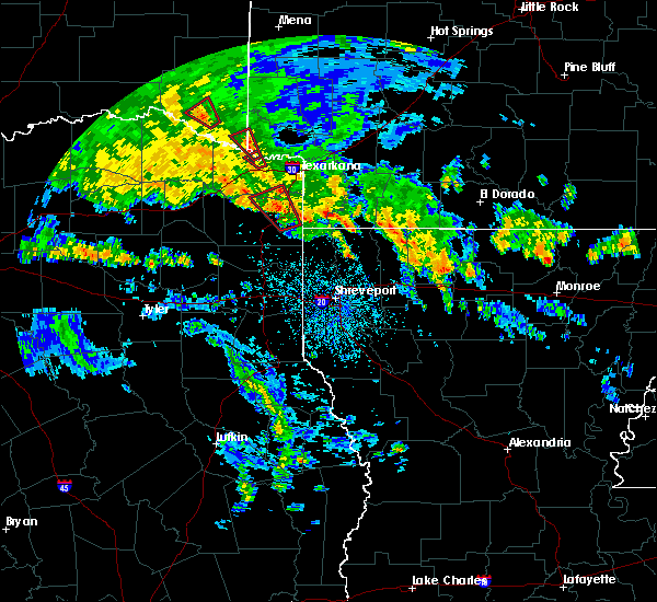 Radar Image for Severe Thunderstorms near Magnolia, AR at 5/16/2020 4:46 PM CDT
