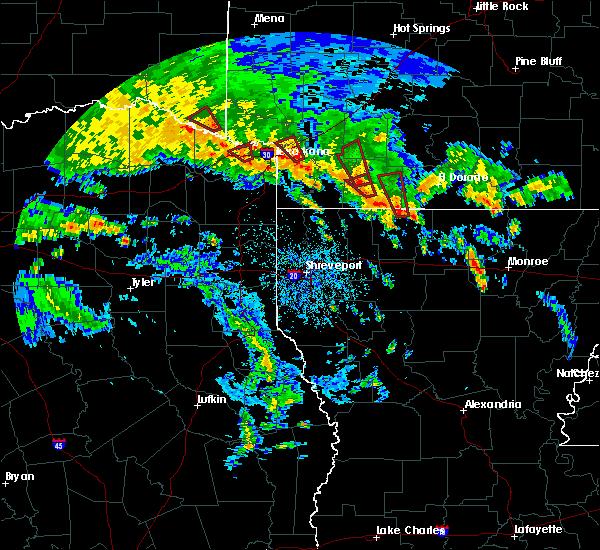 Radar Image for Severe Thunderstorms near Buckner, AR at 5/16/2020 5:22 PM CDT