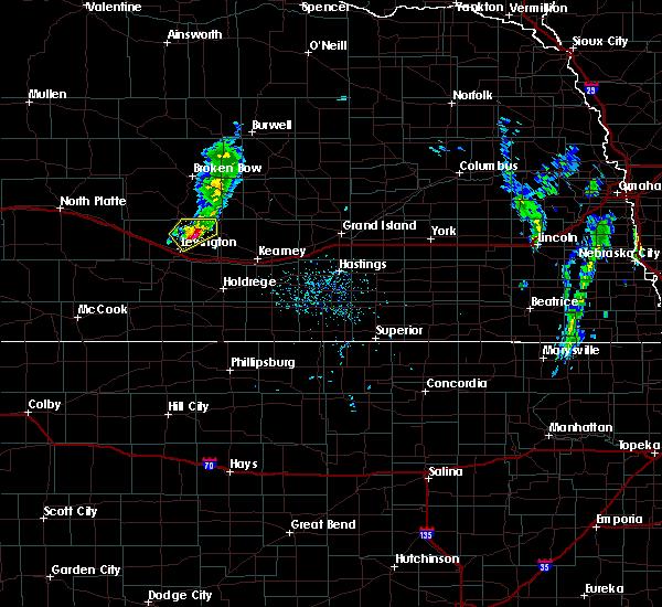 Radar Image for Severe Thunderstorms near Sumner, NE at 5/16/2020 7:40 PM CDT