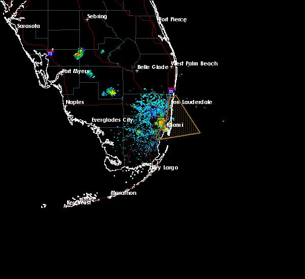 interactive hail maps - hail map for miami, fl