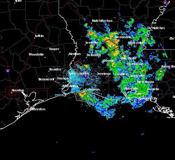 Radar Image for Severe Thunderstorms near Oretta, LA at 5/17/2020 6:27 PM CDT