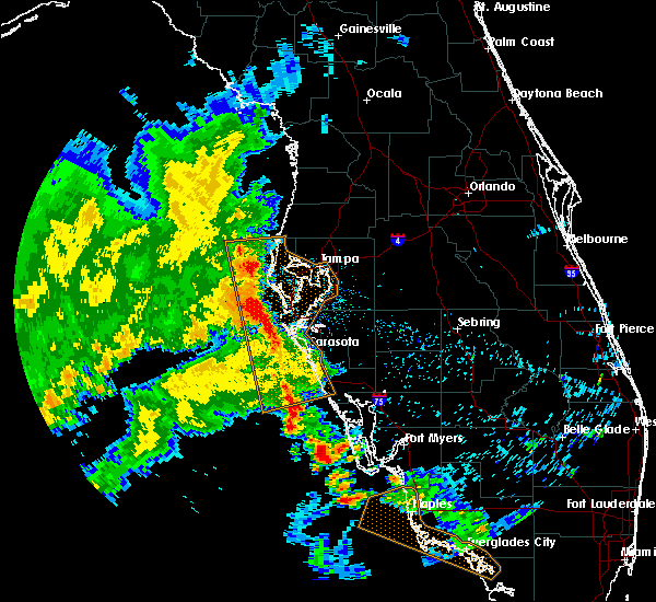 Radar Image for Severe Thunderstorms near Cortez, FL at 5/18/2020 8:37 AM EDT